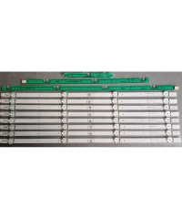 "ARCELİK 49"" DRT_REV0.1, ARCELIK 49"" DRT_REV0.1, 057T49-C15, ARÇELİK 49VLX7730 SP, Led Backligth Strip, Led Bar, Panel Ledleri çubuk"